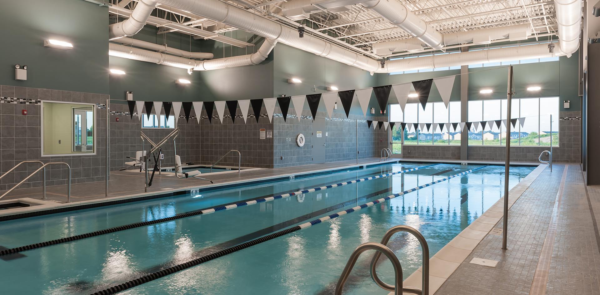 Advocate Bromenn Integrated Wellness Center Lap Pool