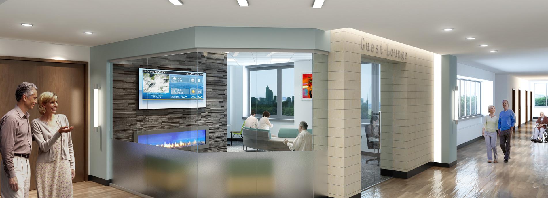 Hospital Family Waiting Area