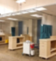Forbes Cancer Center Infusion Bay Mock U