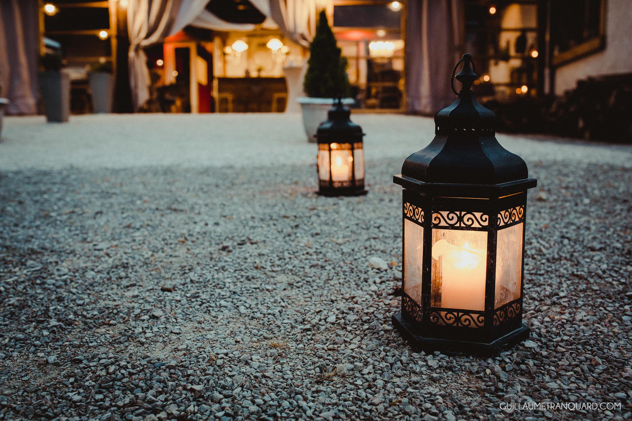 Chemin de lanternes