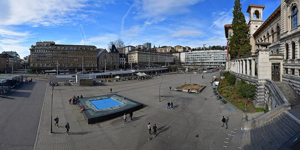 Nouveau ! Les vendredis nous vous servons à la Riponne à Lausanne