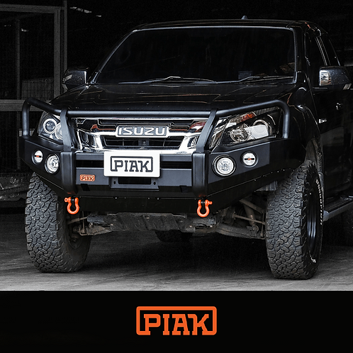 PIAK 3 Loop Premium Winch bar - Isuzu D-MAX (2012 - 2017)