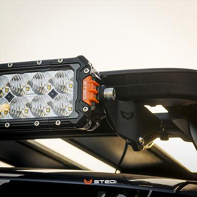 STEDI Light Bar Bracket to Suit Rhino Rack Platform V2.0