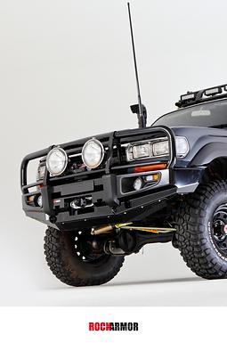 Rock Amor Premium Bull Bar - Toyota Land Cruiser 80 Series
