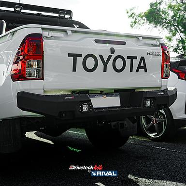 Drivetech 4x4 Rear Bumper by Rival - Toyota Hilux (KUN/GUN)