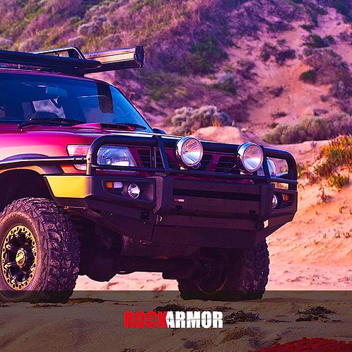 RockArmor  Premium Bull Bar - Nissan Patrol GU 4+ (Y61)