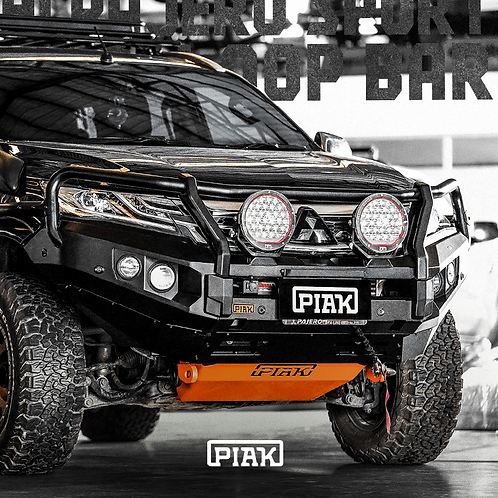 PIAK Elite 3 Loop Winch bar - Mitsubishi Pajero Sport (2016+)