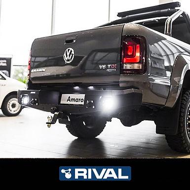 Drivetech 4x4 Rear Bumper by Rival - VW Amarok