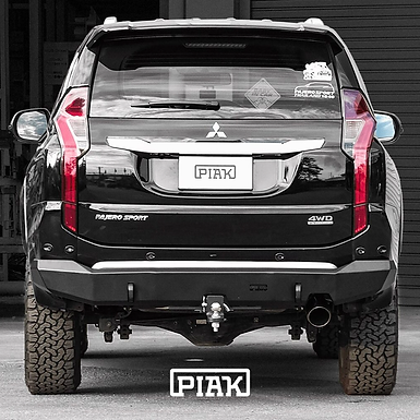 PIAK Rear Bar Tow Bar - Mitsubishi Pajero Sport QE (2016+)