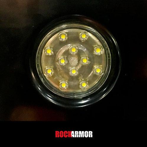 RockArmor Round LED Light - White
