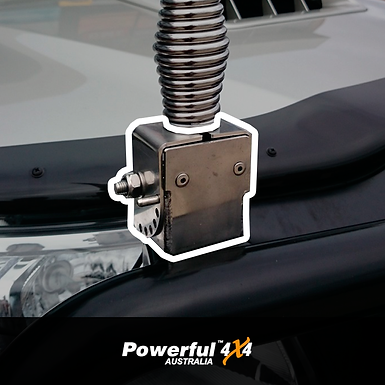 Powerful 4x4 Stainless Steel Foldable Antenna Mount