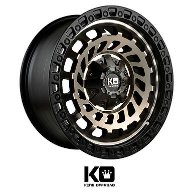 King Wheels  - Zombies (Machined Bronze)