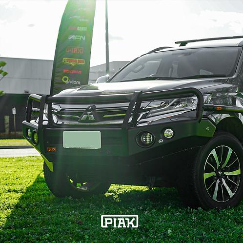 PIAK 3 Loop Premium Winch bar - Mitsubishi Pajero Sport (2016+)
