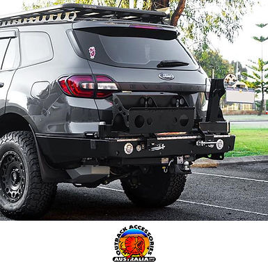 Outback Accessories Wheel Carrier - Ford Everest