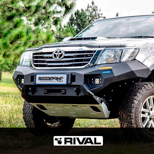 RIVAL Alloy Front Bumper - Toyota Hilux (2012 - 2015)