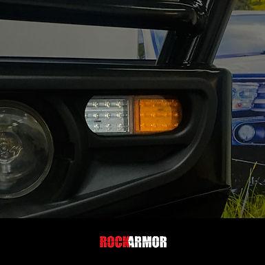 RockArmor 2x Park and Indicator LED Bull Bar Light
