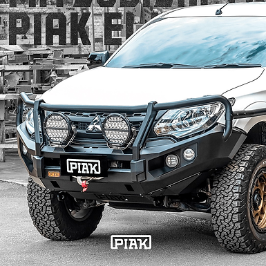 PIAK 3 Loop Elite Winch bar - Mitsubishi Triton MQ