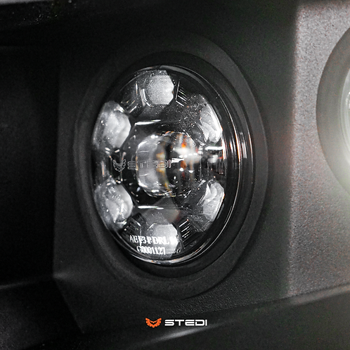 STEDI LED/DRL Fog Lights - To Suit PIAK and Offroad Animal Bull Bar