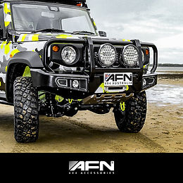 AFN Looped Bull Bar - SUZUKI JIMNY 2019