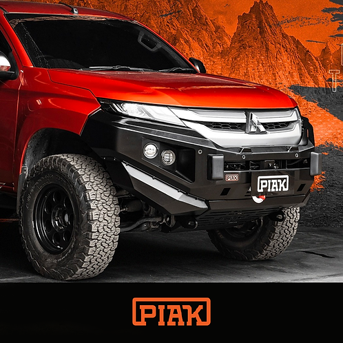 PIAK Non-Loop Premium Winch Bar - Mitsubishi Triton MR (2019+)