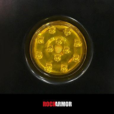 RockArmor Round LED Light - Yellow