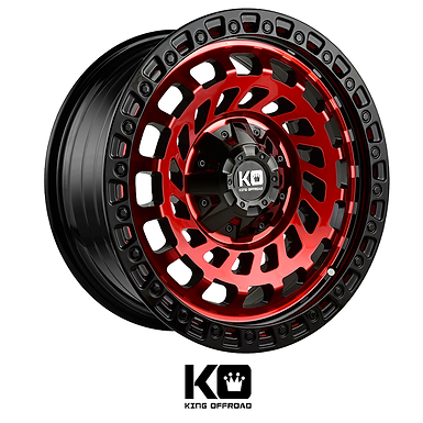 King Wheels  - Zombies (Machined Red)