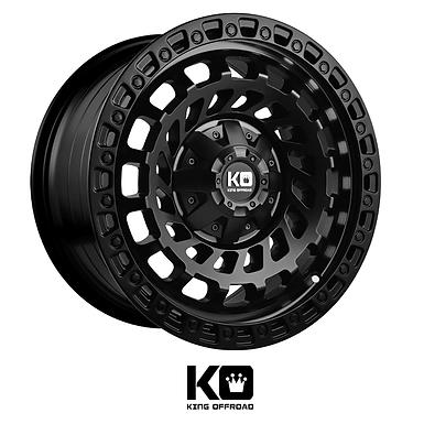 King Wheels  - Zombies (Matte Black)