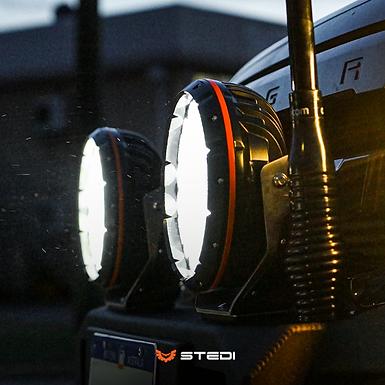 "STEDI LED Round Spot Lights - 8.5"" TYPE-X™ SPORT"