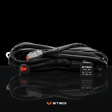 STEDI Single Connector Plug & Play Smart Harness - High Beam