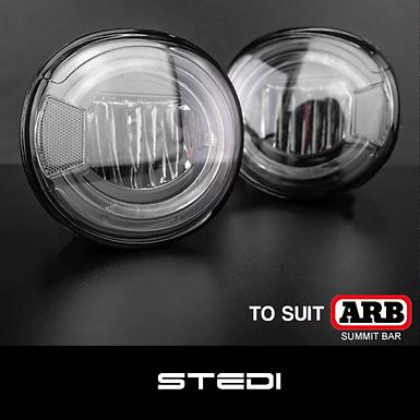 STEDI ARB Summit Bull Bar LED Fog Light Upgrade Kit