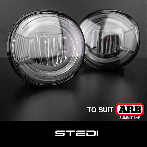 STEDI ARB Summit Bull Bar LED Fog Light Upgrade Kit