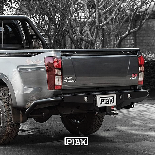 PIAK Premium Rear Step Tow bar  - Isuzu D-MAX & Holden Colorado RG (2012+)