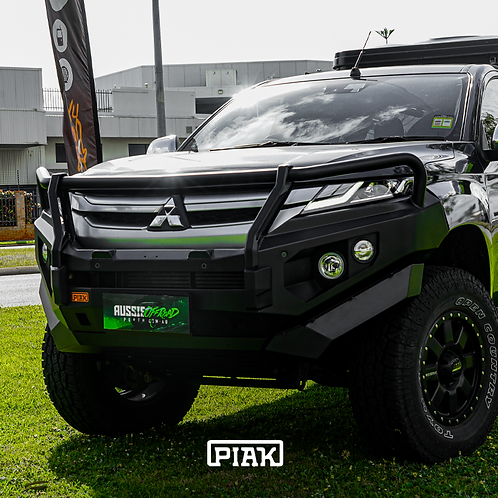 PIAK 3 Loop Premium Winch bar - Mitsubishi Triton MR (2019+)
