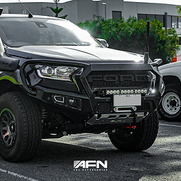 AFN Looped Bull Bar - Ford Ranger PX MKII