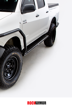 RockArmor Side Steps & Rocksliders - Toyota Hilux (2005 - 2015)
