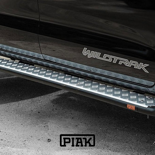 PIAK Side Steps Ford Ranger (PX, PXII, PXIII) & Mazda BT-50