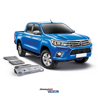 Rival Alloy Under Body Armour Kit - Toyota Hilux N80
