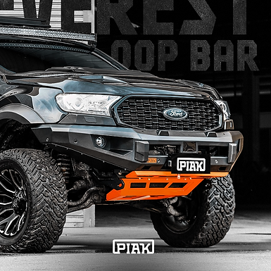 PIAK Elite 3 Loop Bar - Ford Ranger PXII/XIII and Everest