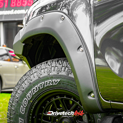 """Drivetech 4x4 6"""" Offroad Flares - Toyota Hilux N80 (2015+)"""