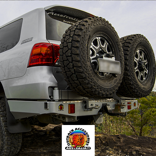 Outback Accessories Wheel Carrier - Toyota Land Cruiser 200 Series