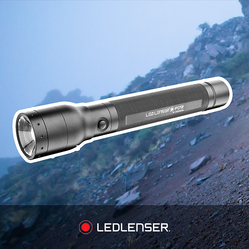 Led Lenser Torch - P17R - Box/Rechargeable