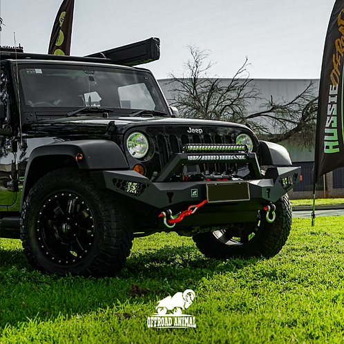 Offroad Animal Predator Bull Bar with Stealth Loop - Jeep Wrangler JK (07-2018)