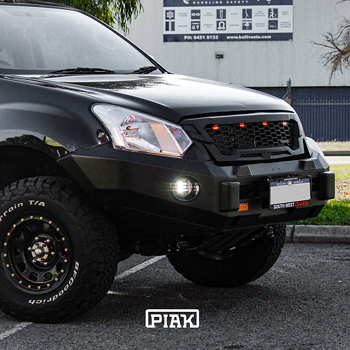 PIAK Non-Loop Premium Winch Bar - Isuzu DMAX (2017+)