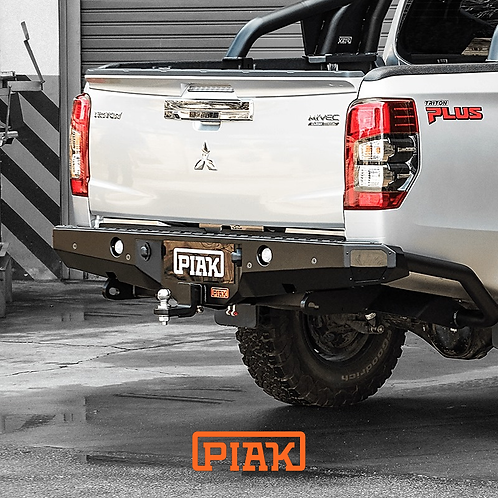 PIAK Premium Rear Step Tow bar  - Mitsubishi Triton MR