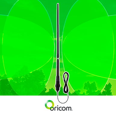 Oricom 3dBi/6.5dBi UHF CB Antenna Town & Country Antenna Pack - 43cm & 140cm