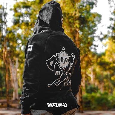 WAZMAD - King Slayer (BLK) Premium Hoodie
