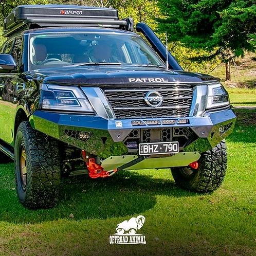 Offroad Animal Cobra Bull Bar - Nissan Patrol Y62 (2020+)