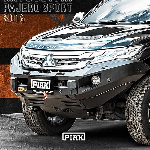 PIAK Elite Non Looped Winch bar - Mitsubishi Pajero Sport (2016+)