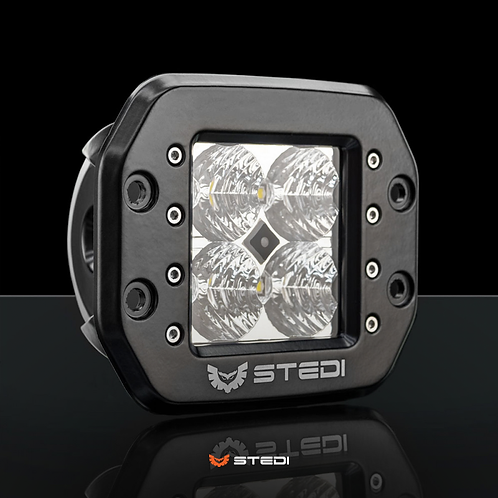 STEDI C4 LED Light Cube Flush Mount - Flood