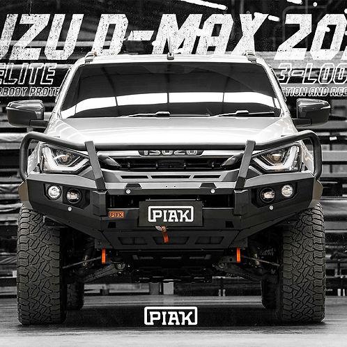 PIAK 3 Loop Elite Winch bar - Isuzu D-MAX (2020+)